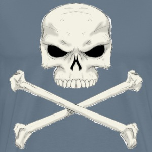 Jolly roger painting - Men's Premium T-Shirt
