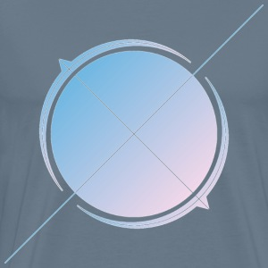 Astro arrow painting - Men's Premium T-Shirt