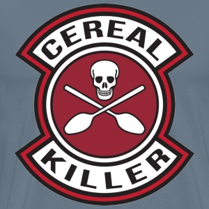 Cereal killer paintin - Men's Premium T-Shirt