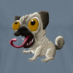 Pug sticker painting - Men's Premium T-Shirt