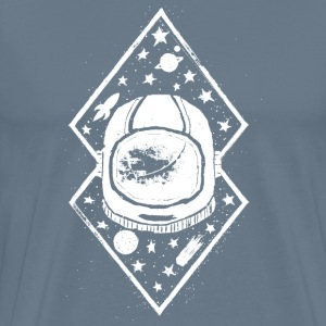 Space traveller desig - Men's Premium T-Shirt