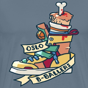 Oslo b ballers design - Men's Premium T-Shirt