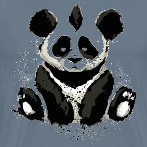 Inked panda design - Men's Premium T-Shirt