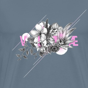 Vintage flowers desig - Men's Premium T-Shirt