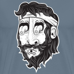 Mr. beard man art - Men's Premium T-Shirt