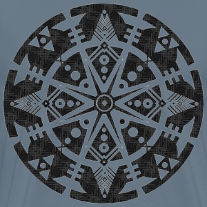 tribal shape reflection - Men's Premium T-Shirt