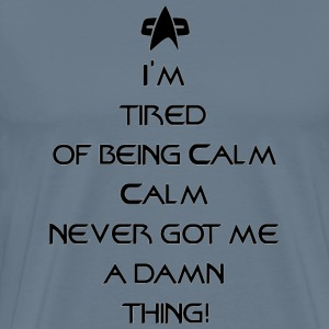 far beyond calm_design - Men's Premium T-Shirt