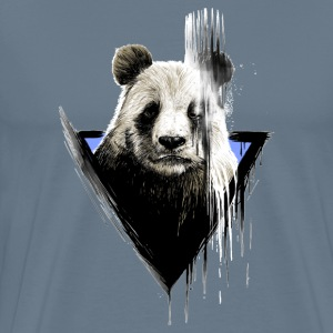 The faded panda paint - Men's Premium T-Shirt