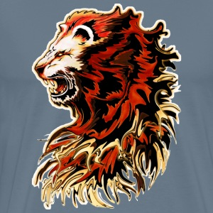 King lion roar painti - Men's Premium T-Shirt
