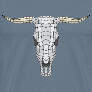 Polygon bull skull pa - Men's Premium T-Shirt
