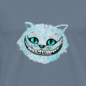 Cheshire cat blue pai - Men's Premium T-Shirt