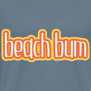 Beach bum orange pain - Men's Premium T-Shirt