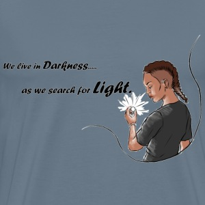 Darkness to light - Men's Premium T-Shirt