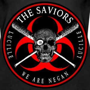 Biohazard The Saviors We Are Negan Ring Patch R Tanks - Women's Premium Tank Top