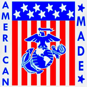 American Made Flag EGA  - Men's Premium T-Shirt