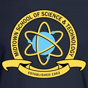 MIDTOWN SCHOOL SCIENCE & TECHNOLOGY Long Sleeve Shirts - Men's Long Sleeve T-Shirt