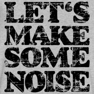 LET'S MAKE SOME NOISE (Vintage/Black) V-Neck T-Shi - Men's V-Neck T-Shirt by Canvas