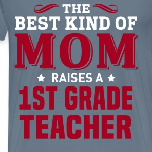 1st Grade Teacher MOM - Men's Premium T-Shirt