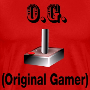 O.G. Original Gamer - Men's Premium T-Shirt