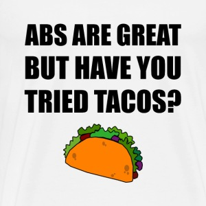 ABS Great Tried Tacos - Men's Premium T-Shirt