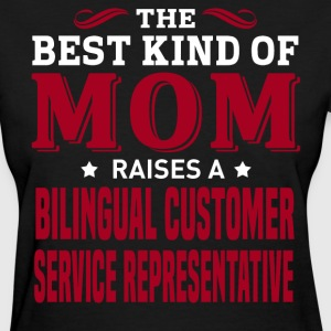 Bilingual Customer Service Representative MOM - Women's T-Shirt