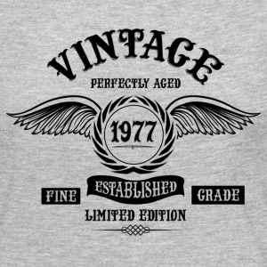 Vintage Perfectly Aged 1977 Long Sleeve Shirts - Women's Premium Long Sleeve T-Shirt