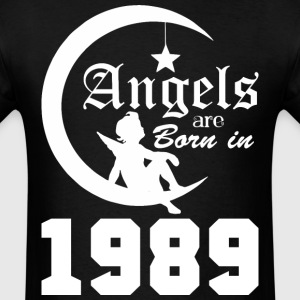 Angels are Born in 1989 - Men's T-Shirt