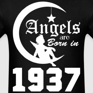 Angels are Born in 1937 - Men's T-Shirt
