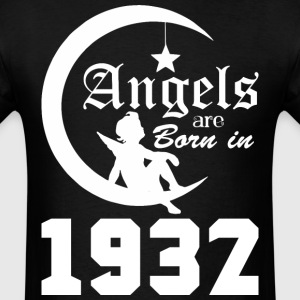 Angels are Born in 1932 - Men's T-Shirt