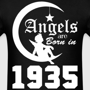 Angels are Born in 1935 - Men's T-Shirt