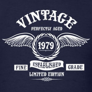 Vintage Perfectly Aged 1979 T-Shirts - Men's T-Shirt