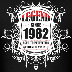 Legend since 1982 Aged to Perfection Authentic Vin - Men's T-Shirt