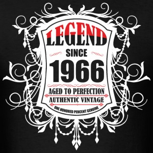 Legend since 1966 Aged to Perfection Authentic Vin - Men's T-Shirt