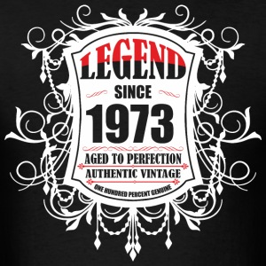 Legend since 1973 Aged to Perfection Authentic Vin - Men's T-Shirt