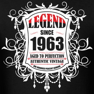 Legend since 1963 Aged to Perfection Authentic Vin - Men's T-Shirt