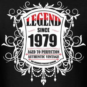 Legend since 1979 Aged to Perfection Authentic Vin - Men's T-Shirt