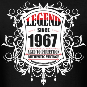 Legend since 1967 Aged to Perfection Authentic Vin - Men's T-Shirt