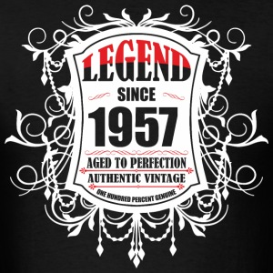 Legend since 1957 Aged to Perfection Authentic Vin - Men's T-Shirt