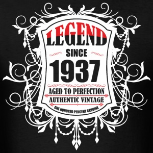 Legend since 1937 Aged to Perfection Authentic Vin - Men's T-Shirt