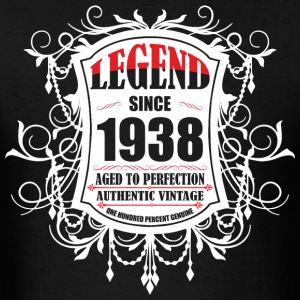 Legend since 1938 Aged to Perfection Authentic Vin - Men's T-Shirt