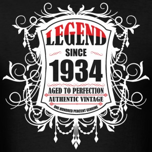 Legend since 1934 Aged to Perfection Authentic Vin - Men's T-Shirt