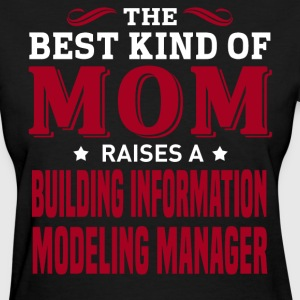 Building Information Modeling Manager MOM - Women's T-Shirt