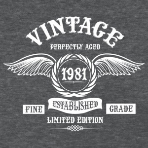 Vintage Perfectly Aged 1981 T-Shirts - Women's T-Shirt