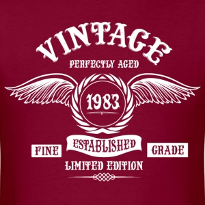 Vintage Perfectly Aged 1983 T-Shirts - Men's T-Shirt