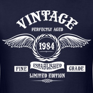 Vintage Perfectly Aged 1984 T-Shirts - Men's T-Shirt