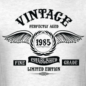 Vintage Perfectly Aged 1985 T-Shirts - Men's T-Shirt