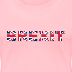 BREXIT With Drop Shadow - Women's Premium T-Shirt