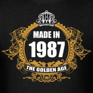 Made in 1987 The Golden Age - Men's T-Shirt