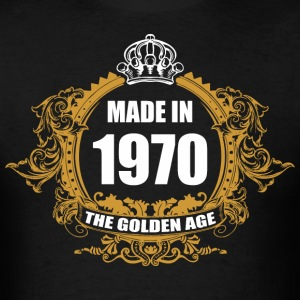 Made in 1970 The Golden Age - Men's T-Shirt