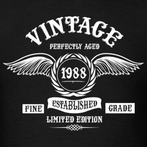 Vintage Perfectly Aged 1988 T-Shirts - Men's T-Shirt
